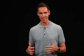 Steve Nash Reacts To Reuniting With Mike D'Antoni