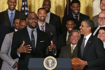 Barack Obama Details The Call With LeBron James That Help Restart The NBA