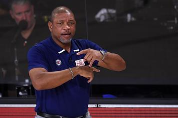 Doc Rivers Urges People To Vote During Joe Biden Rally Speech