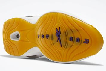 "Kobe-Inspired Reebok Question ""Yellow Toe"" Unveiled: Photos"