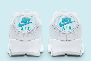 Nike Air Max 90 Set To Drop In Clean Winter Colorway: Photos