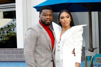 "50 Cent & His GF Prove Ice-T's ""Gangster"" Comment Right"