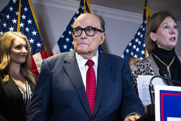 "Rudy Giuliani Says He's ""Recovering Quickly,"" Following COVID-19 Hospitalization"