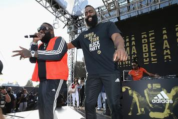 "James Harden Gets Thick, Prompts ""Rick Ross"" Trend"