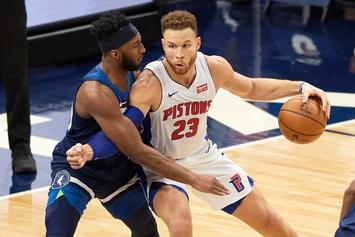 Blake Griffin In Concussion Protocol After Catching Elbow From James Wiseman