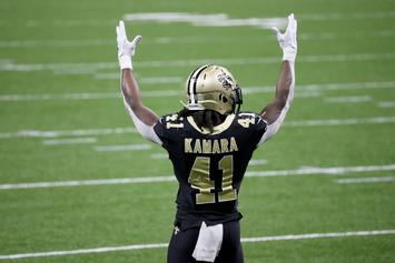 Alvin Kamara Tests Positive For COVID-19