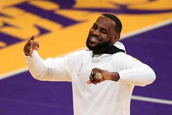 """Lebron James Says """"We Live In Two Americas"""" Following U.S. Capitol Riots"""