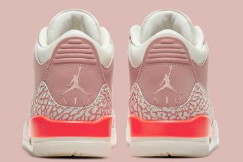 "Air Jordan 3 ""Rust Pink"" Coming Later This Year: Official Look"