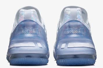 "Nike LeBron 18 ""Blue Tint"" Coming Soon: Official Photos"