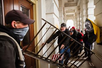 Reporter Captures Raw Footage From Inside The Capitol Siege: Watch