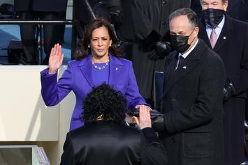 Kamala Harris' Nephew-In-Law Rocks Dior 1s To Inauguration