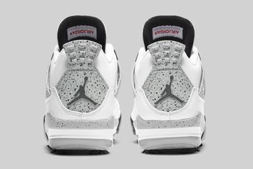 """Air Jordan 4 Golf """"White Cement"""" Release Date Unveiled"""
