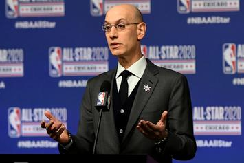 """Adam Silver Reacts To LeBron James' Criticism Of All-Star Game: """"I Respect Him"""""""
