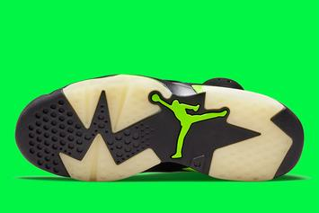 "Air Jordan 6 ""Electric Green"" Officially Unveiled: Photos"