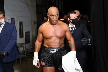 Mike Tyson Reveals Date Of His Next Fight