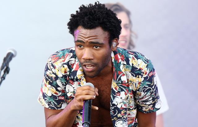 Actor/rapper Donald Glover (aka Childish Gambino) performs onstage during the 2014 iHeartRadio Music Festival Village on September 20, 2014 in Las Vegas, Nevada. (Photo by Rich Polk/Getty Images