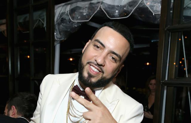 French Montana smiling