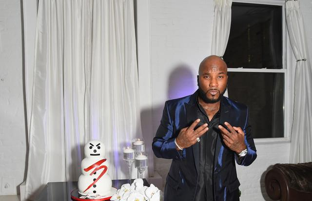 Jeezy with a Snowman cake