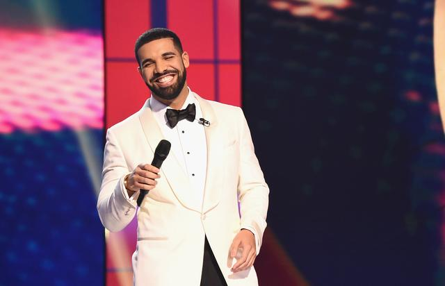 Drake at the NBA Awards