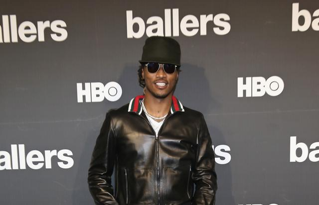 Future at Ballers TV show premiere