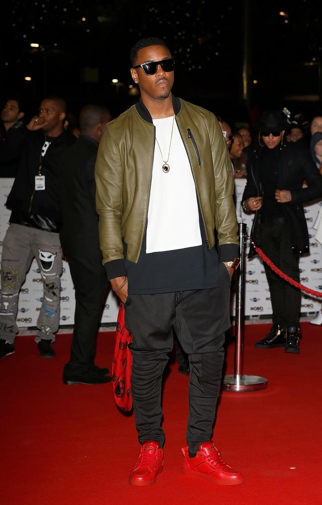 jeremih on a red carpet