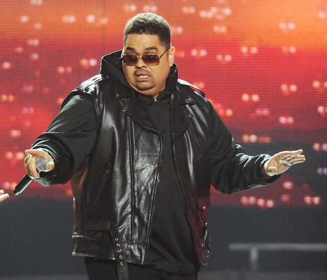 Heavy D performing