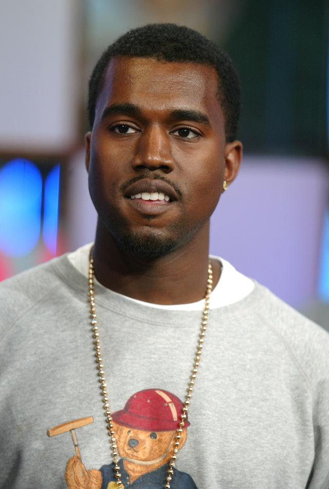 Kanye West on TRL in 2004