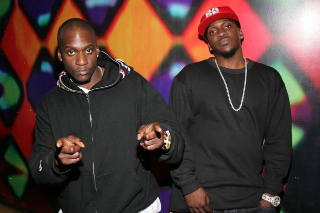 Pusha T and No Malice in 2006