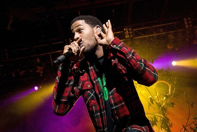 Kid Cudi performs at MTV's ''Ulalume'' Halloween Music Festival at the Merriweather Post Pavillion on October 23, 2009 in Columbia, Maryland.