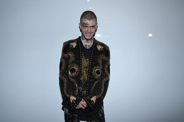 Lil Peep at Paris Fashion Week