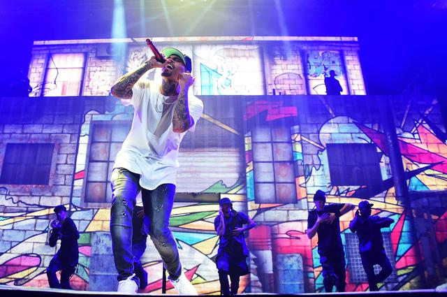 Chris Brown and Trey Songz 'Between The Sheets' Tour - Brooklyn