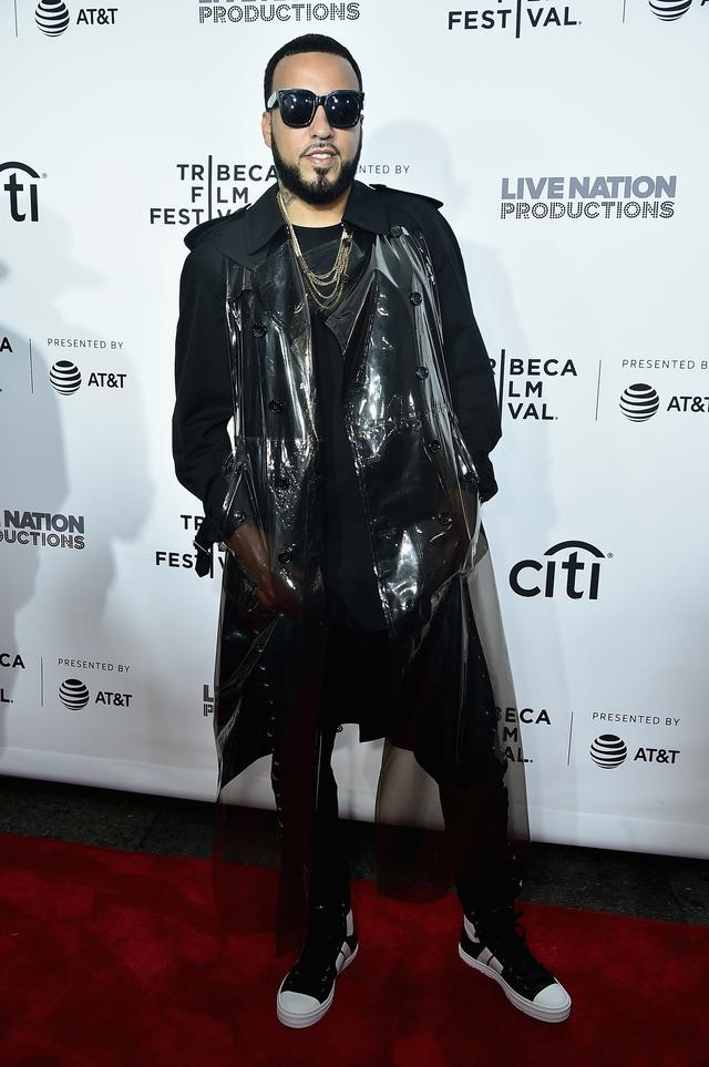 French Montana at Can't Stop, Won't Stop movie premiere