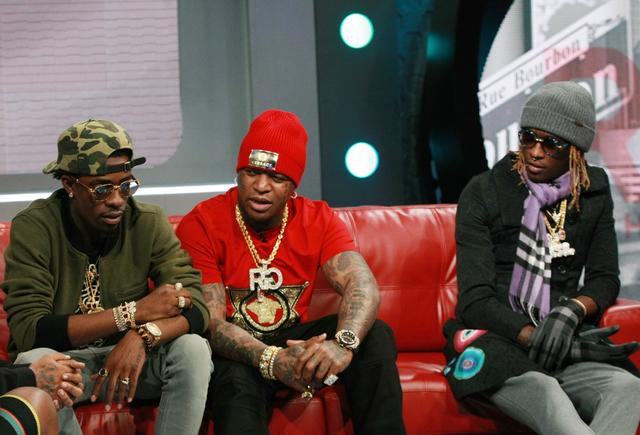 Rich Homie Quan, Young Thug & Birdman at BET 106 & Park