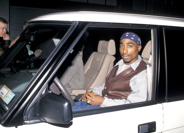 Tupac in NYC in 1994