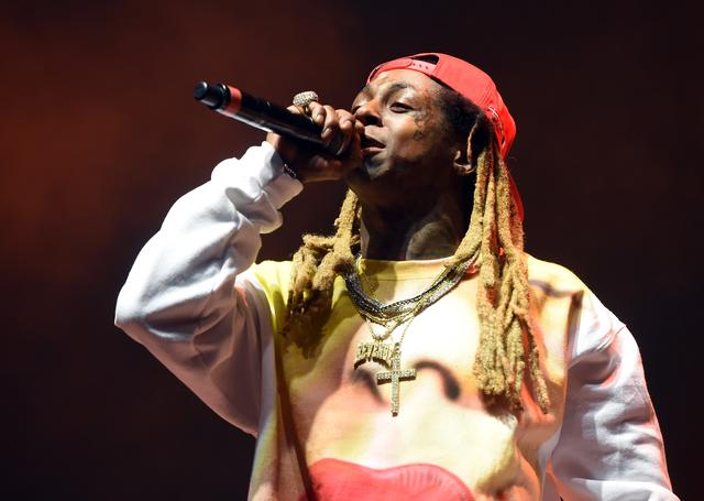 Lil Wayne performing at Tyler, the Creator's 5th Annual Camp Flog Gnaw Carnival