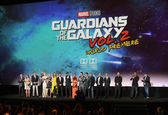 Guardians of the Galaxy Vol 2 world premiere