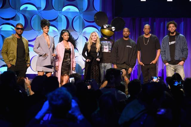 Jay-Z at TIDAL Launch with Kanye West, Rihanna and more
