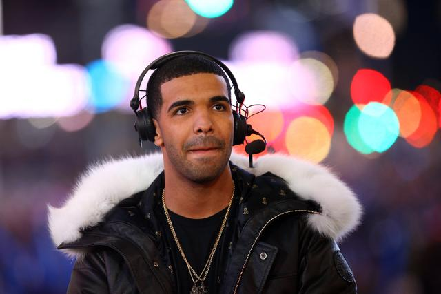 Drake in 2012 on New Years Eve