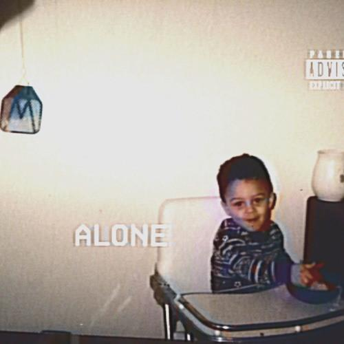 Lil Skies Alone album art