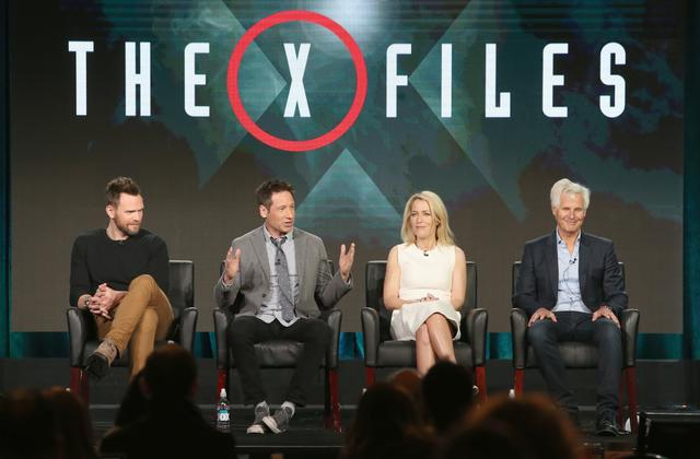 The X-Files cast at panel discussion