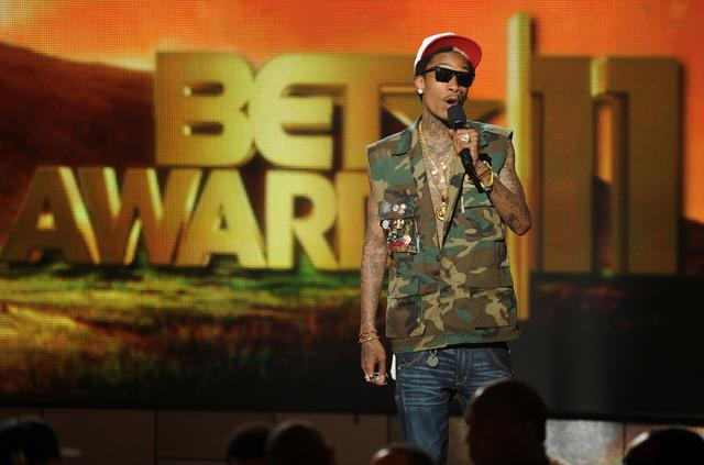 Wiz Khalifa at BET Awards