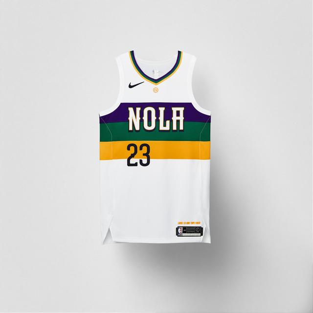 Pelicans 2018-19 City Edition Uniform