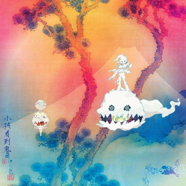 Kids See Ghosts official artwork