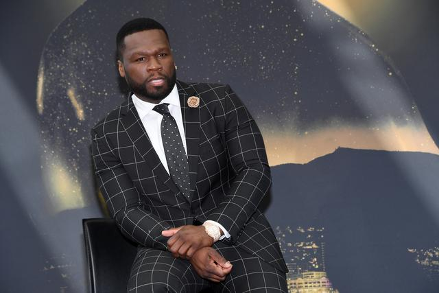 50 Cent at Power event