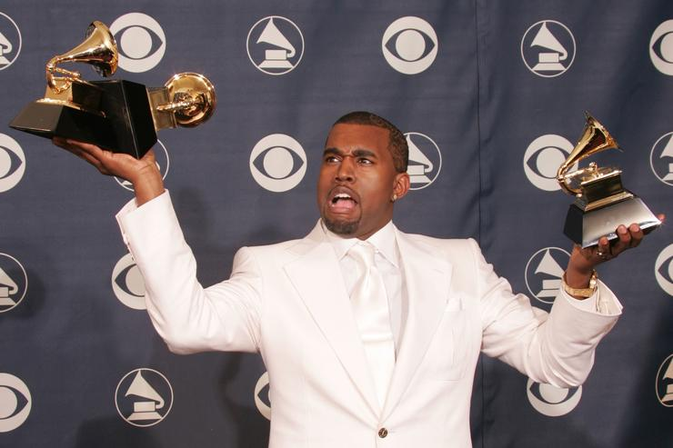 Kanye West at the Grammys