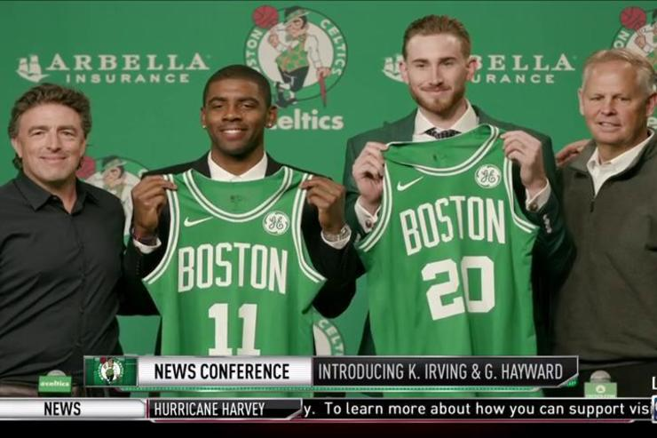 Kyrie Irving x Gordon Hayward