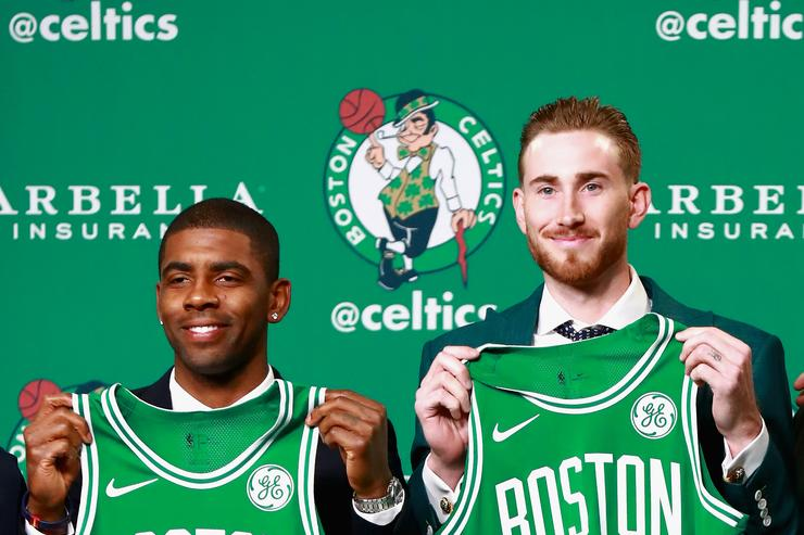 Kyrie Irving & Gordon Hayward sign to Boston Celtics