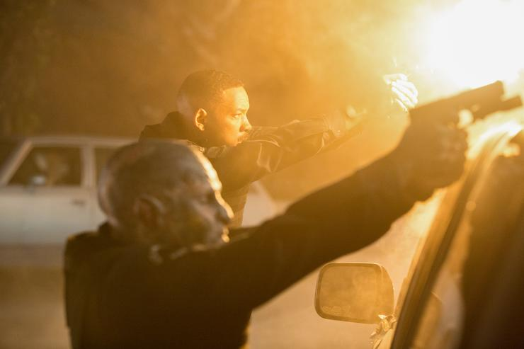 Watch Will Smith take on a new breed of bad guys in Netflix movie 'Bright'