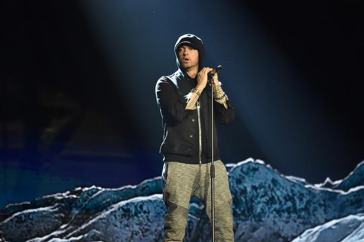 Eminem at the MTV EMAs 2017