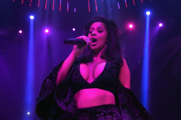 Cardi B Wraps Up Her Incredible 2017 With Two Grammy Nominations